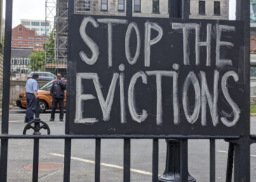 """What would you do if you had to choose between your child's medication and your rent?"" Protesters want eviction ban extended"