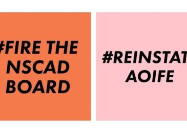 PSA: Petition: Fire the NSCAD Board of Governors and reinstate President Dr. Aoife Mac Namara