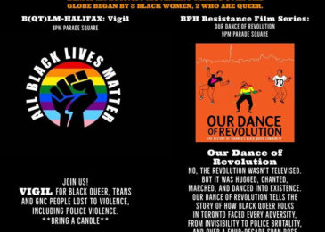 Media Advisory – BlackPride: B(QT)LM vigil and Black Power Hour Film