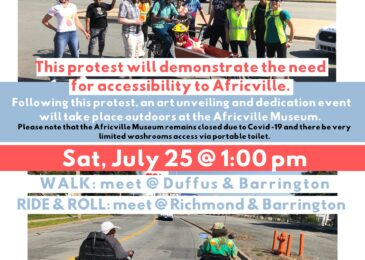 PSA: The 2nd Annual Walk, Ride and Roll to Africville