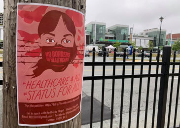 Press Release: Poster campaign in Halifax calls for status for all, healthcare access for all migrants