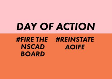 PSA: Day of Action to fire the NSCAD Board