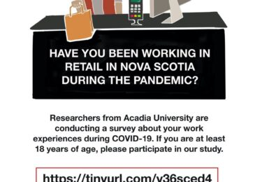 PSA: Well-being and work in NS during a pandemic: Calling all teachers, retail workers and long term care workers