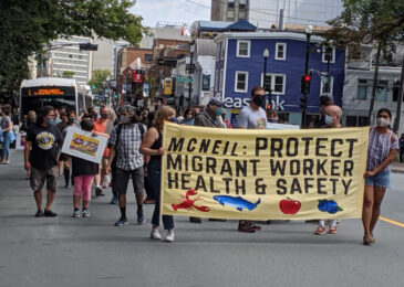 Halifax Labour Day rally demands 10 paid sick days for all workers, now more than ever