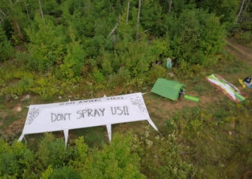 News brief: Opponents of aerial spraying occupy more parcels in Annapolis County