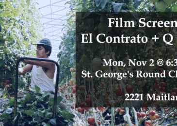 PSA: Film Screening El Contrato + Q and A