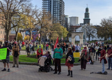 Large rally in Halifax demands rent control now
