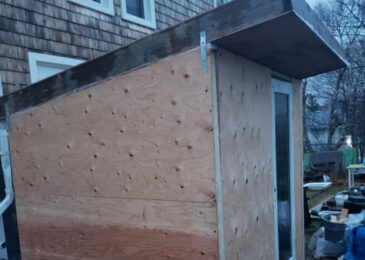 Group builds small structures for people experiencing homelessness in Halifax