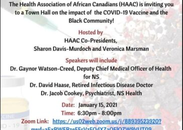 PSA: African Nova Scotian COVID-19 vaccine town hall: Fact vs Fiction