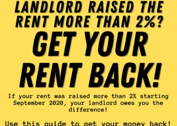 PSA: Your landlord may owe you rent