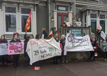 News brief: Efforts to silence Bryony House shelter workers may lead to strike or lockout