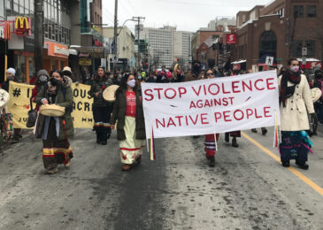 Kjipuktuk marches for all our missing and murdered Indigenous relations