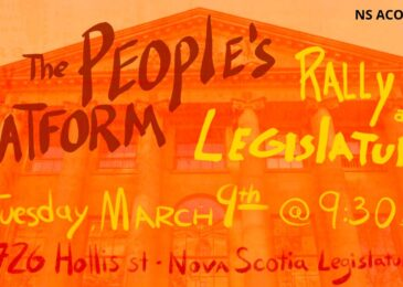 PSA: ACORN Launching 'The ACORN People's Platform' ahead of Legislative Session with a Forum and Rally