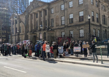 Day 16 of hunger strike: Minister agrees to meet with Jacob Fillmore as people rally at Province House