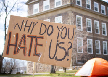 Dalhousie students camp out in support of tuition freeze