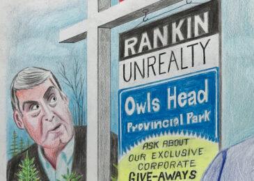 Editorial cartoon: Iain and his 'Owl'batross