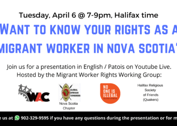 Want to know your rights as a migrant worker in Nova Scotia?