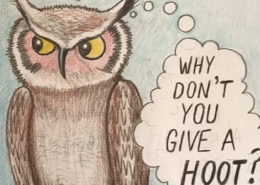 Editorial Cartoon: Why don't you give a hoot?