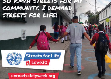 United Nations Road Safety Week: My plea for urgent action