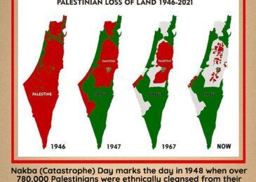 Press release: Nakba Catastrophe: 73 years of Palestinian resistance