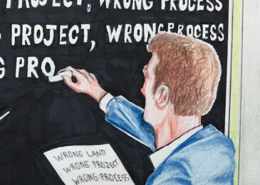 Editorial cartoon: Back to school