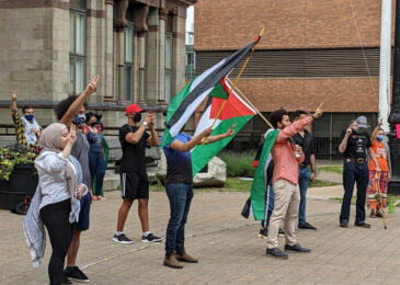 """""""Palestine is not just a trend"""" – Haligonians rally for Palestine"""