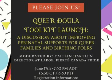 For Immediate Release: Launch of Queer Doula Toolkit