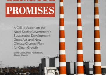"""Media release: New """"Beyond Climate Promises"""" report calls on Nova Scotia government to step up and take action now"""