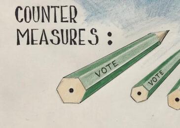 Editorial cartoon: Vote!