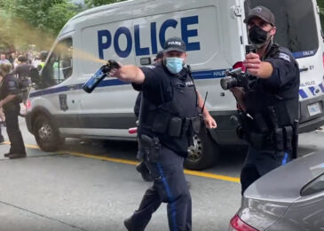 News brief: Push back against brute force police evictions continues