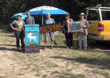 News brief: Camps pop up on glyphosate spray sites in Colchester County